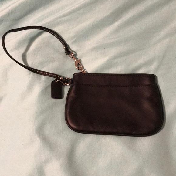Coach Handbags - ! Coach leather wristlet